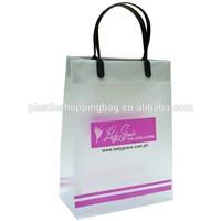 Custom Printed Rigid Loop Handle Plastic Bag