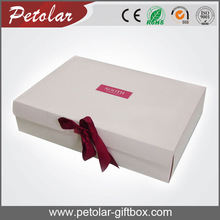 white a4 size high end suitcase gift box