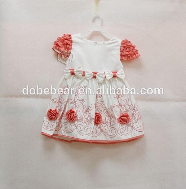abito da sposa con fiocco bianco ragazze fiori vestito foto vestito ragazza