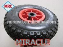 high quality wheel barrow solid rubber wheel/caster wheels heavy duty