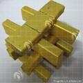Caliente la venta de oro shisha tabletas de carbón