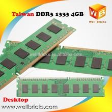 Low price 1333mhz pc3-10600 desktop ddr3 4gb ram memory