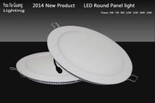 12W CE ROHS LED Round Panel light