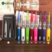 Alibaba express search products e-cigarete eGo II mega kit vape pen wholesale eGo 22200mah ego ii mega kit