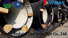 DN250 BS EN K9 Ductile cast iron pipe