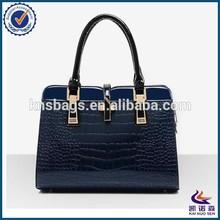 Italian fashion Elegant Middle Aged leather lawyer bag for women