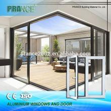 Multiple sizes functionality aluminum profile for window