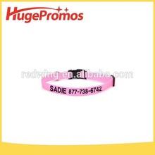 Hot sale Design Polyester Adjustable Pet Collar for dog&cat