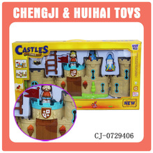 Christmas plastic toy cheap doll house