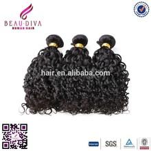 "2015 hot sale Brazilian water wave virgin hair ,12""-28"" Natrual color unprocessed virgin"