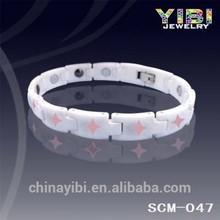 2014 Healthy Lovely Star Desigh Ceramic & Magnetic bracelet, ceramic jewelry