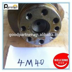 Forged Steel Alloy Steel Cast Iron 4M40 Crankshaft For Mitsubishi Pajero / Montero Diesel V26 V36 V46 4M40 ME202013 ME203551