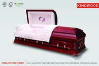 FEMALE ESTHER CHERRY coffins design self assembly furniture