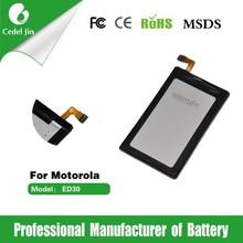 ED30 2010mah 3.8v rechargeable li-ion battery for motorola XT1031 XT1032 XT1033 ED30 Droid mini battery