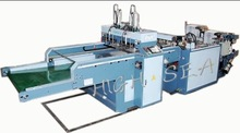 Full Automatic High Quality High Speed Plastic Bag Shopping Bag Heat-sealing and Heat-cutting Bag Making Machine