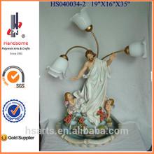 "35"" Jesus fountain indooor fountain with lighting"
