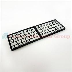 Alibaba express hot selling portable mini wireless Folding Bluetooth keyboard