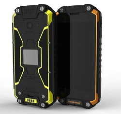 """2015 best price 4.5"""" MTK6582 quad core 3G GPS BT IP68 rugged mobile phone"""