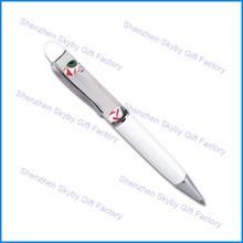 Floating Eyeballs 3D Glitters Custom Liquid Filled Pen