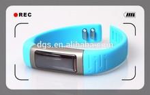 "health care U9 smart watch sport health U9 U see 0.91""OLED silicone wristband watch"