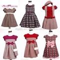 Bambini vintage ingrosso abbigliamento/ragazze vestiti invernali/aziende di abbigliamento cinese abbigliamento invernale
