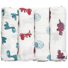 "100% Cotton Animal Shaped Blanket Super Soft 47""x47"" After Washed"
