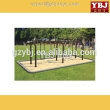 guangzhou ybj kids outdoor swings and slides 2015 hotsale