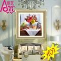 الزهور والفاكهة قناع الساخنة وحة زيتية صورة صورة الجدار diy الكريستال الماس ديكور المنزل النفط اللوحة