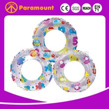2015 good selling pvc children swim ring inflatable