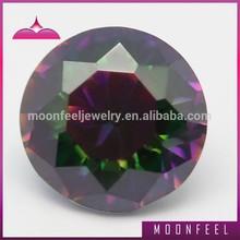 labradorite cut 10mm round shaped rainbow stone
