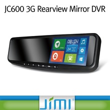 Jimi Hot-selling 3G Rearview Mirror DVR dual sim android gps mobile phone 3g