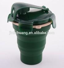 LFGB FDA approved cool design healthy popular silicone cup