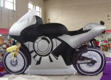 2015 hot sale inflatable motorcycle