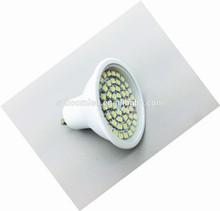 cheap led light ! led gu10 spotlight 60 smd CE,Rohs led light/emergency led light/led bulb housing