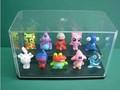 Acrílico caixa de exposição da boneca / acrílico caixa de brinquedos