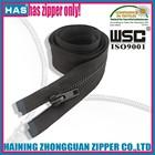 HAS zipper seperate zipper brown color any length reasonable price jacket metal zip fasteners