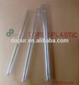 Pvc transparent boîte d'emballage en plastique bouchon à vis pour les raccords