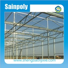 Cheapest and Easily Assembled Galvanized Steel FrameGreenhouse