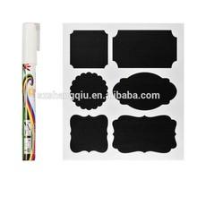 Liquid Chalk Marker Pen for Wall Chalkboard Blackboard Label Stickers