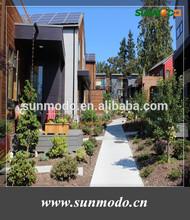 residencial quarter roof solar panel installation