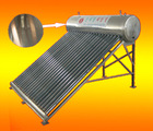coil copper pipe pressurized solar water heater (direct solar system)