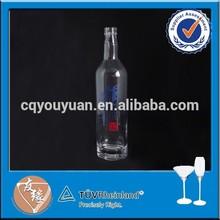 Wholesale liquor/alcohol/spirit glass bottle 750ml