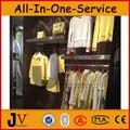 montado en la pared bastidores de ropa al por mayor en línea de tiendas de ropa