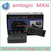 MX III Quad Core android TV BOX MXIII 2G RAM 8G ROM MX3 Android TV box