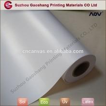 Pre printing digital blank polyester industrial canvas rolls