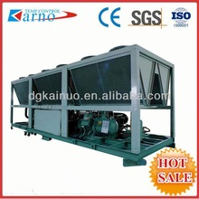 (A)Preservation industry used R22 or R404a Refrigerant 216ton air screw Cooled Industrial Chiller