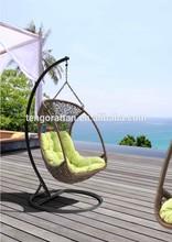 Wicker Rattan Outdoor Wicker Patio Hanging Chair