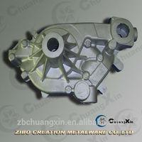 penis pump/water pump shell spare part /aluminum casting