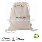 2015 Cotton Drawstring Bag Dust Bags/Natural Cotton Drawstring Bag/Cotton Canvas Tote Bag With Drawstring