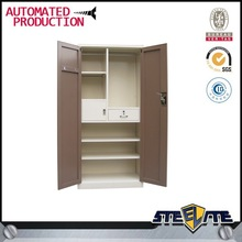 Classic bedroom furniture/double color wardrobe design furniture bedroom/clothes wardrobe